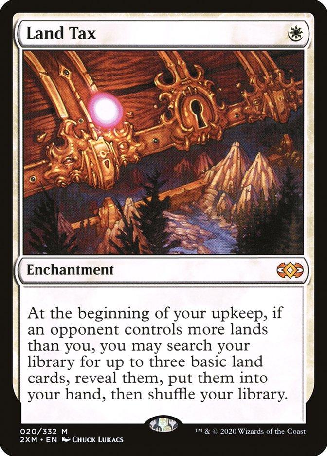 Carta /Land Tax de Magic the Gathering