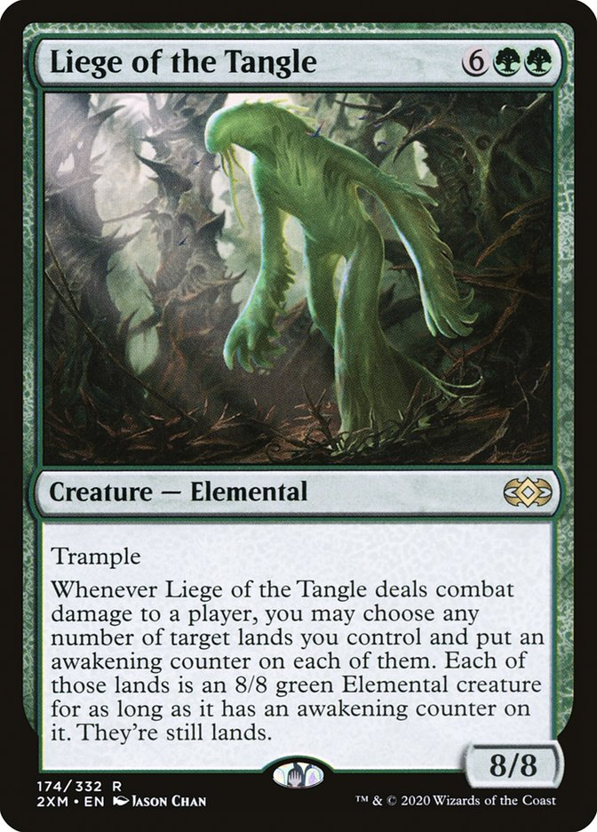 Carta /Liege of the Tangle de Magic the Gathering