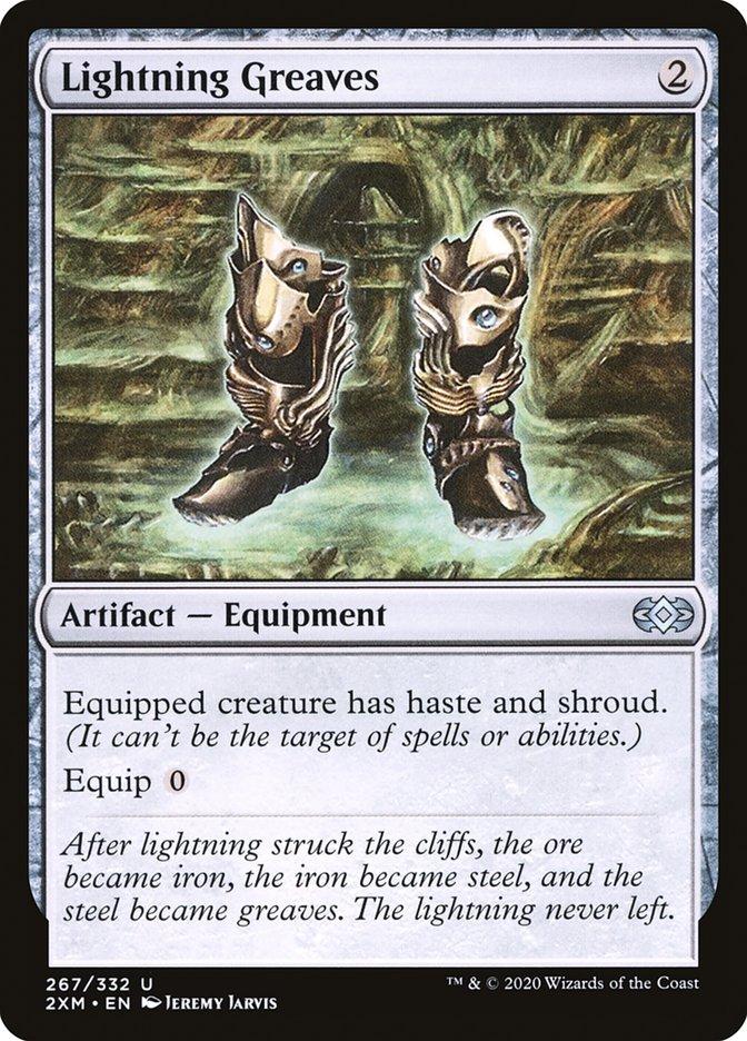 Carta /Lightning Greaves de Magic the Gathering