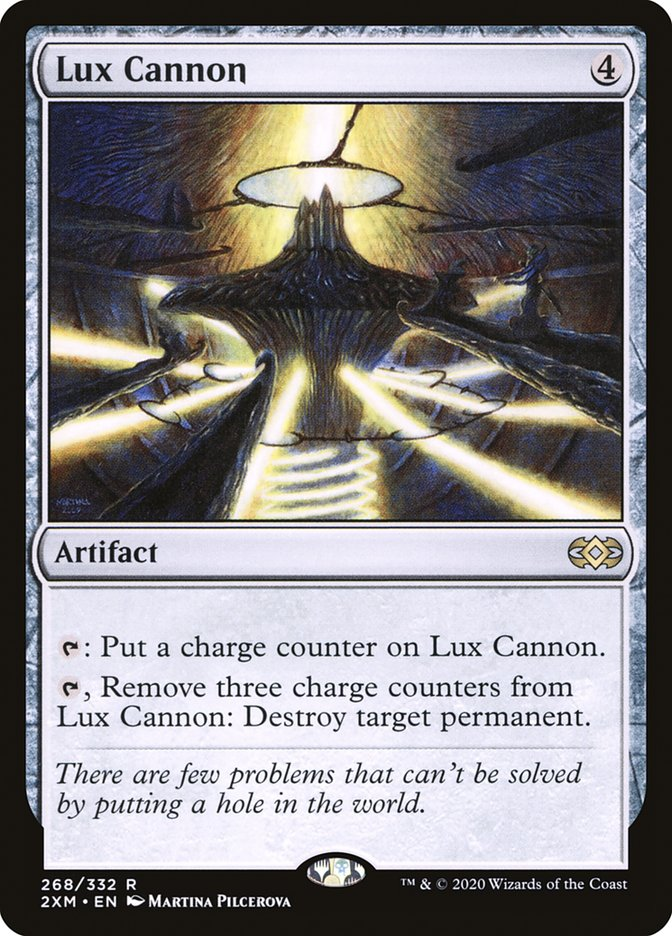 Carta /Lux Cannon de Magic the Gathering