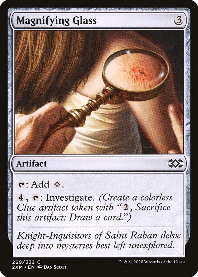 Carta /Magnifying Glass de Magic the Gathering
