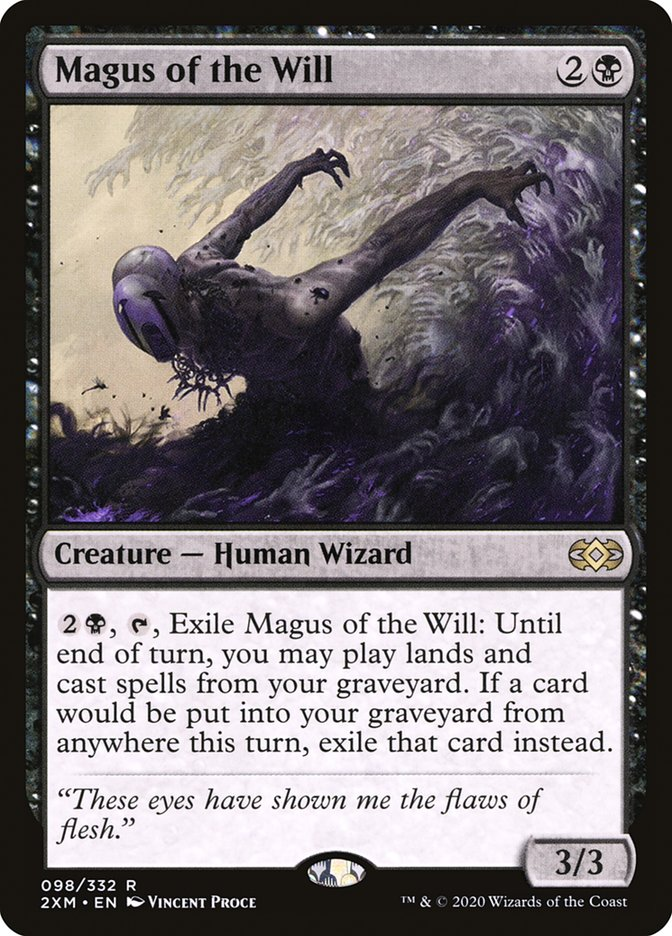 Carta /Magus of the Will de Magic the Gathering
