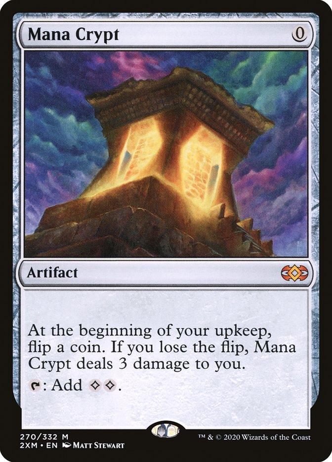 Carta /Mana Crypt de Magic the Gathering