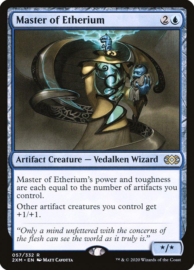 Carta /Master of Etherium de Magic the Gathering