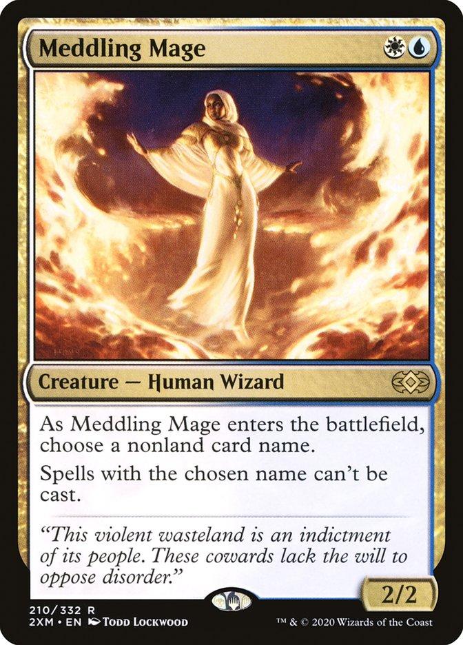Carta /Meddling Mage de Magic the Gathering