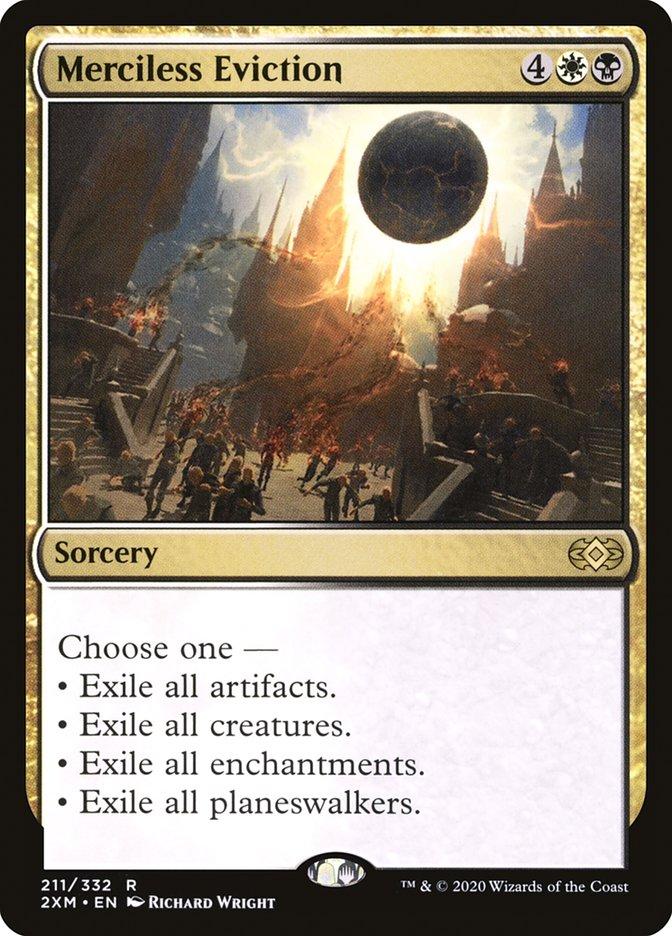Carta /Merciless Eviction de Magic the Gathering