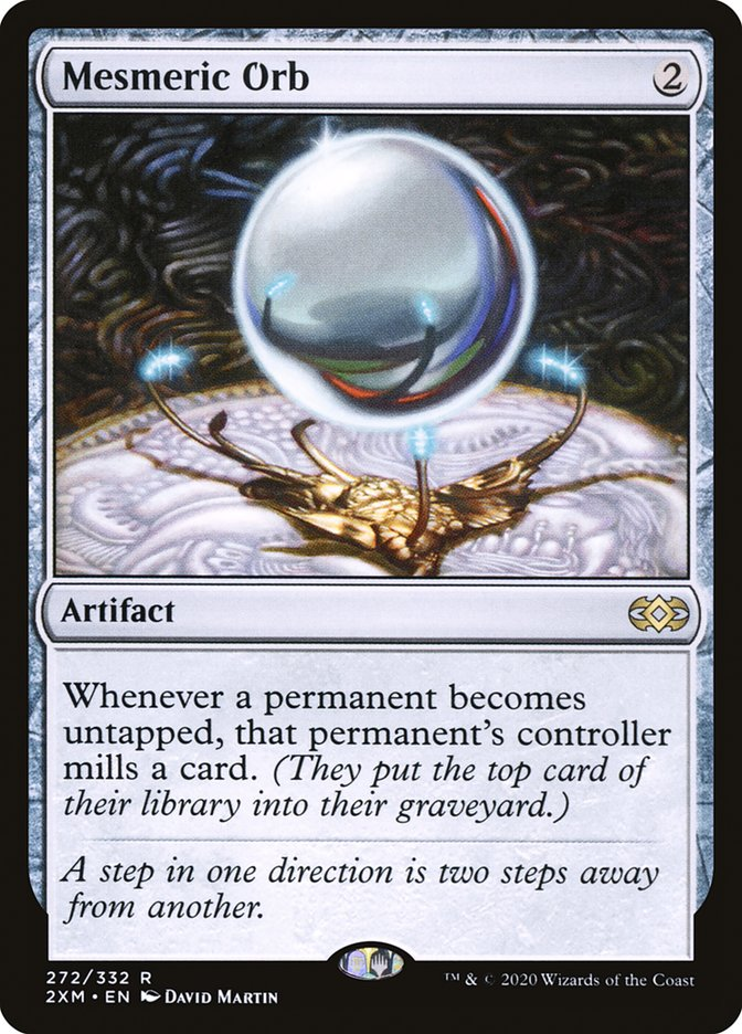 Carta /Mesmeric Orb de Magic the Gathering