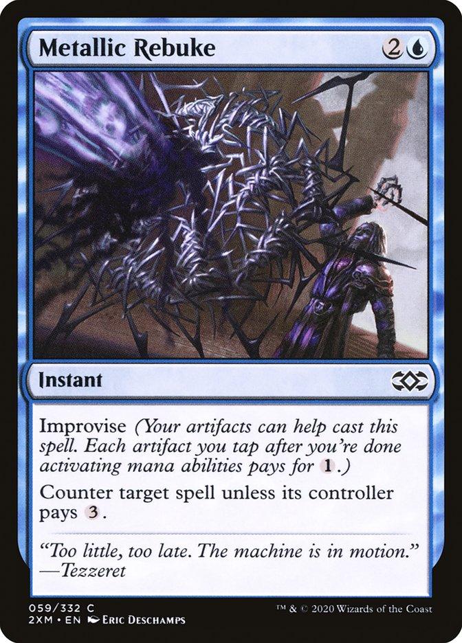 Carta /Metallic Rebuke de Magic the Gathering