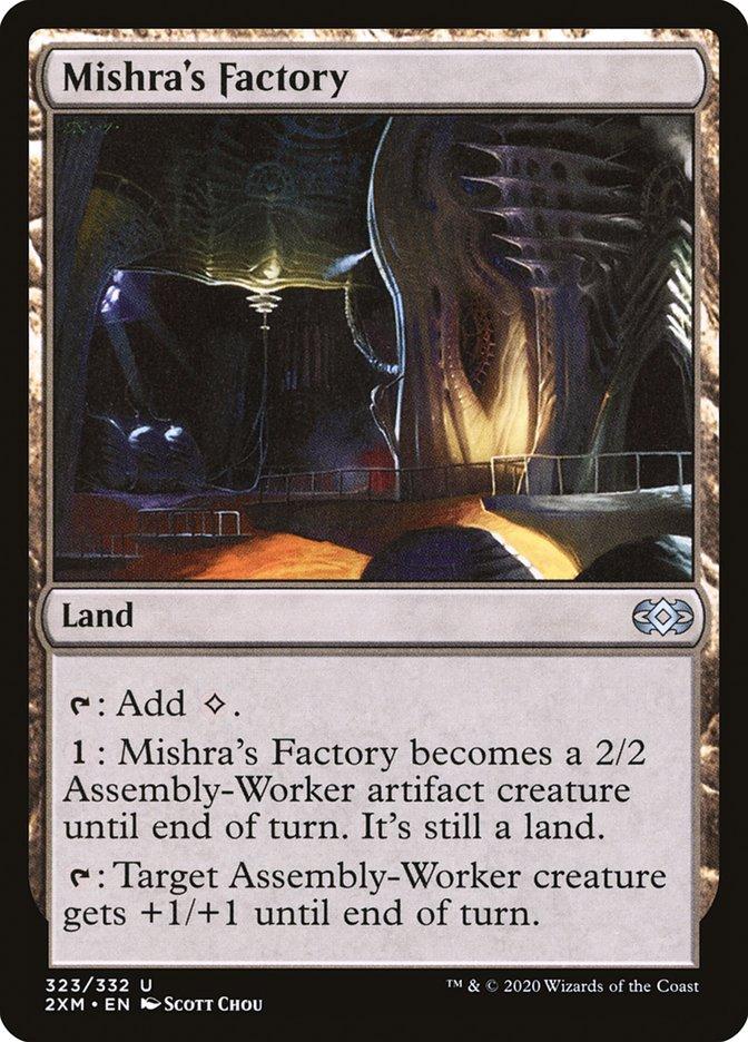 Carta /Mishra's Factory de Magic the Gathering