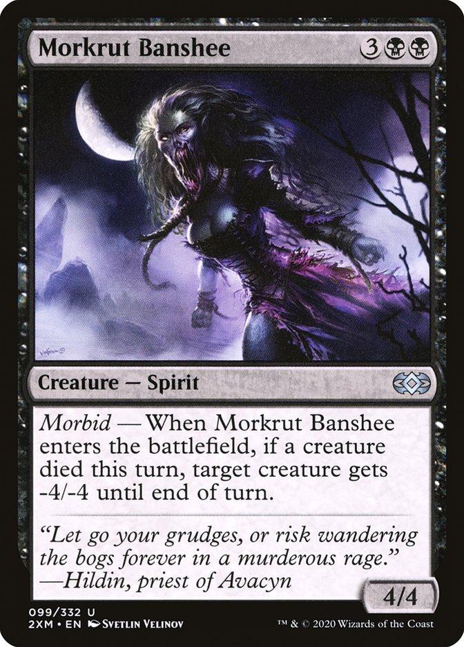 Carta /Morkrut Banshee de Magic the Gathering