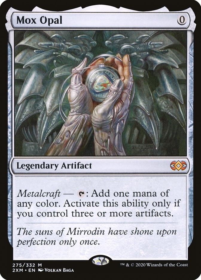 Carta /Mox Opal de Magic the Gathering