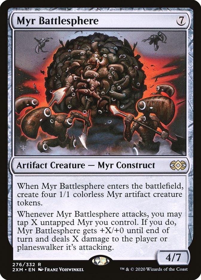 Carta /Myr Battlesphere de Magic the Gathering