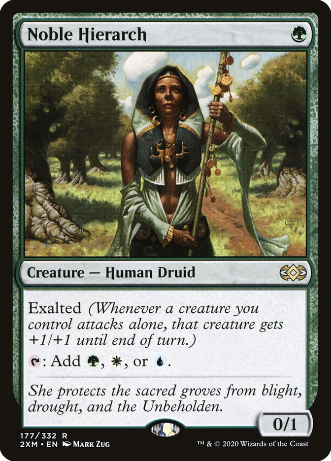Carta /Noble Hierarch de Magic the Gathering