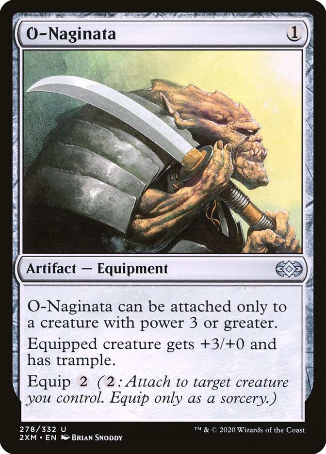 Carta /O-Naginata de Magic the Gathering