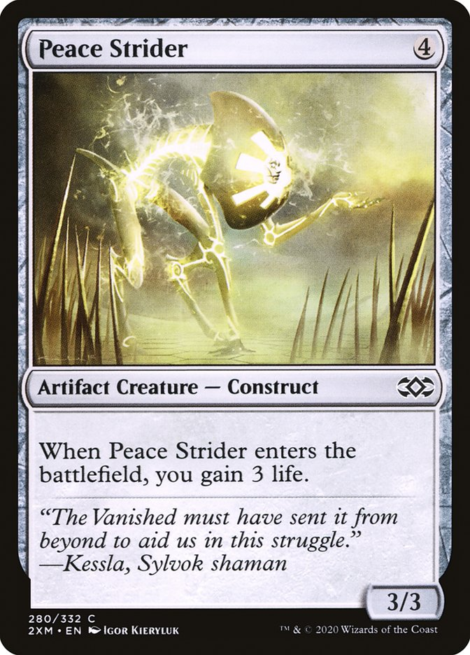Carta /Peace Strider de Magic the Gathering