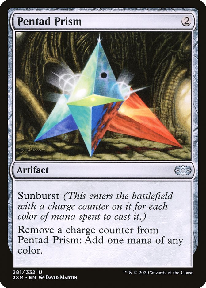 Carta /Pentad Prism de Magic the Gathering