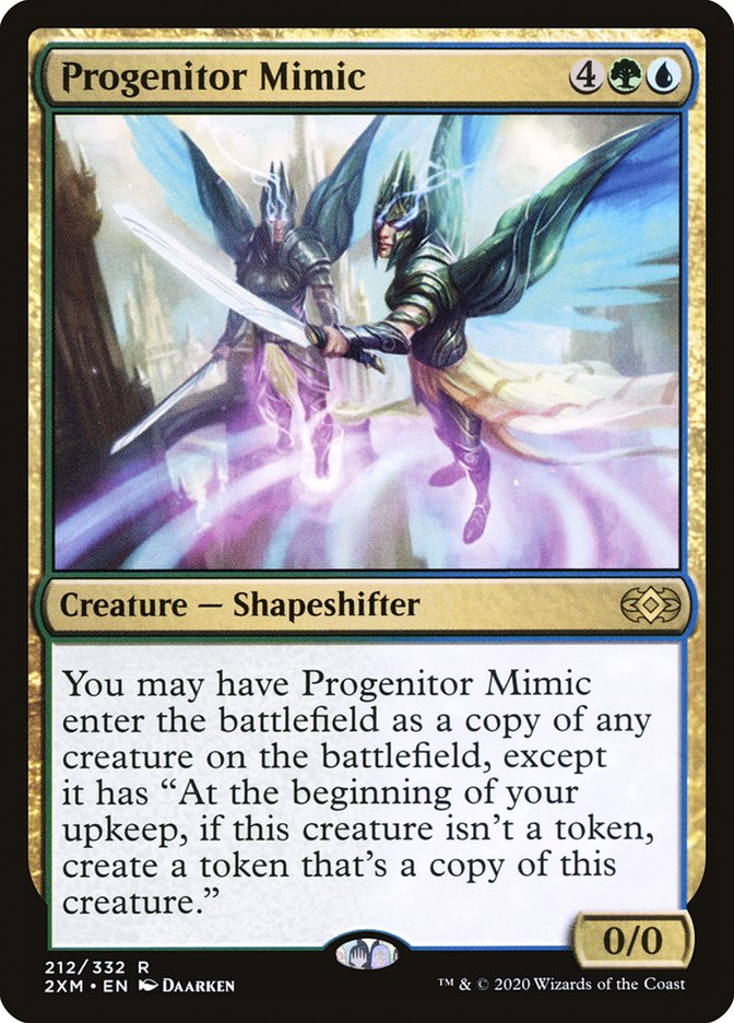 Carta /Progenitor Mimic de Magic the Gathering