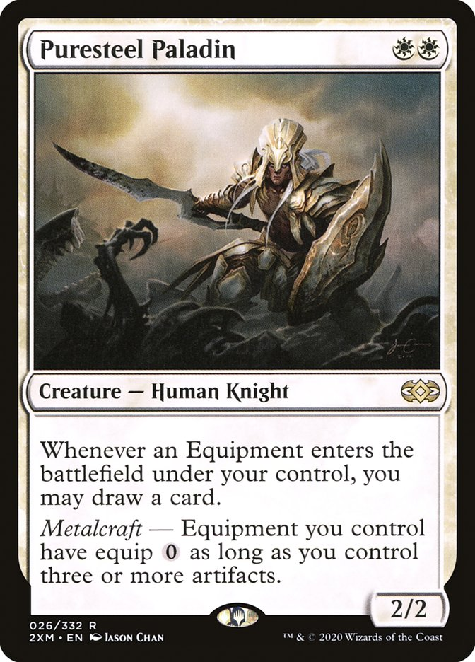 Carta /Puresteel Paladin de Magic the Gathering
