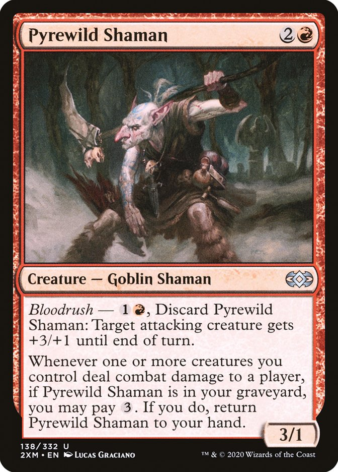 Carta /Pyrewild Shaman de Magic the Gathering