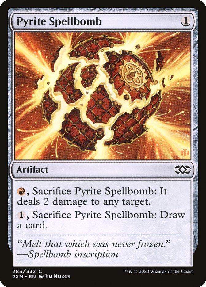 Carta /Pyrite Spellbomb de Magic the Gathering