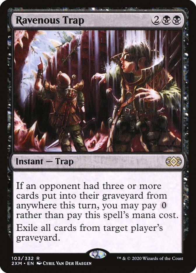Carta /Ravenous Trap de Magic the Gathering