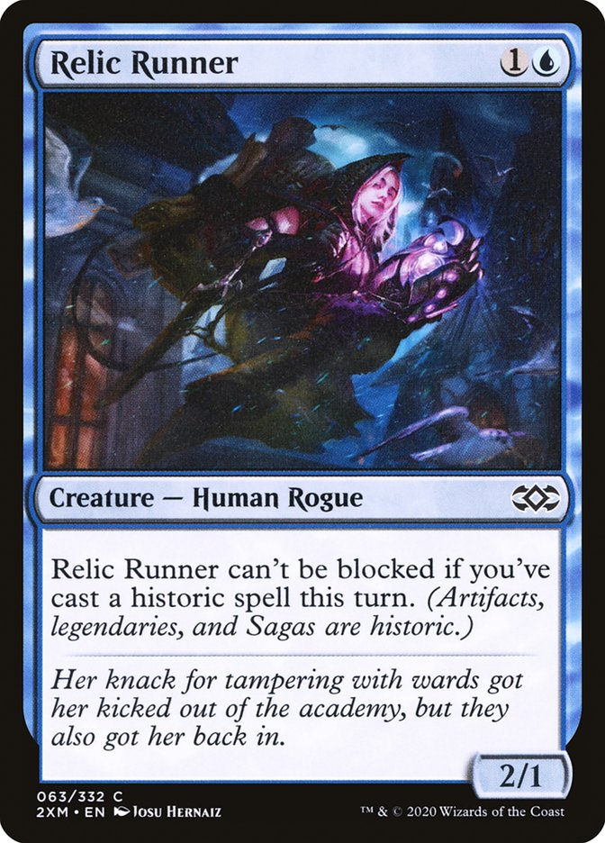 Carta /Relic Runner de Magic the Gathering