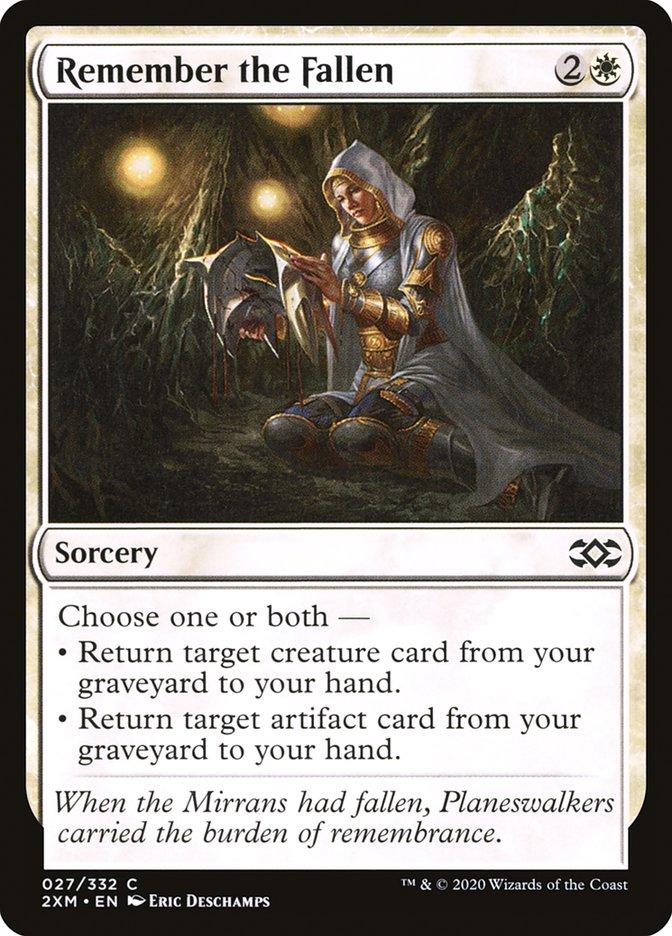 Carta /Remember the Fallen de Magic the Gathering