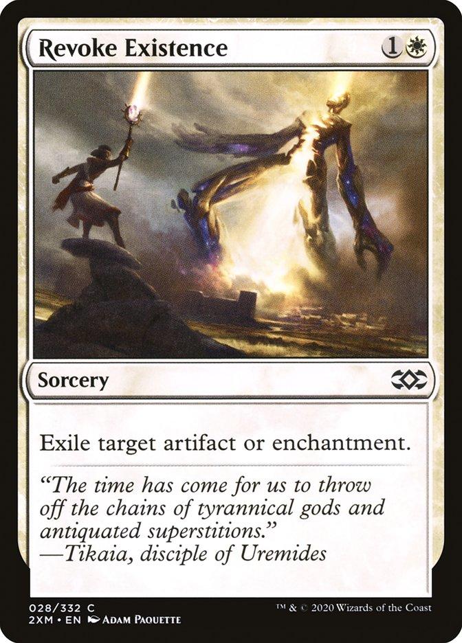 Carta /Revoke Existence de Magic the Gathering