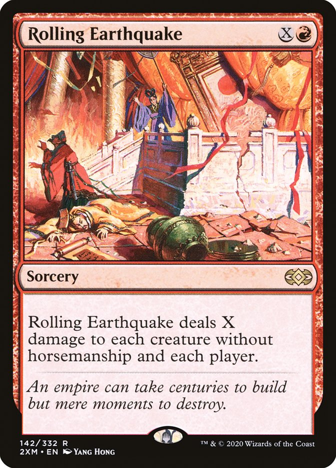 Carta /Rolling Earthquake de Magic the Gathering