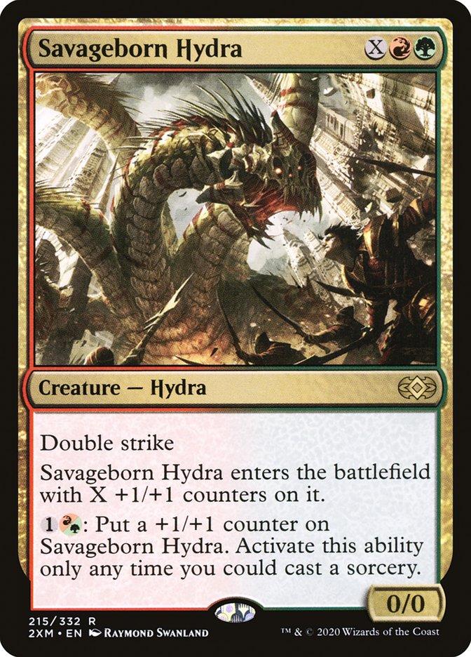 Carta /Savageborn Hydra de Magic the Gathering