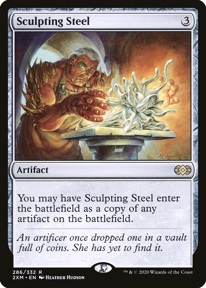 Carta /Sculpting Steel de Magic the Gathering