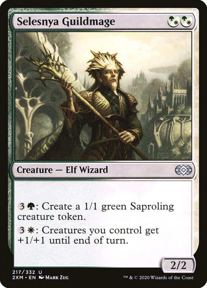 Carta /Selesnya Guildmage de Magic the Gathering