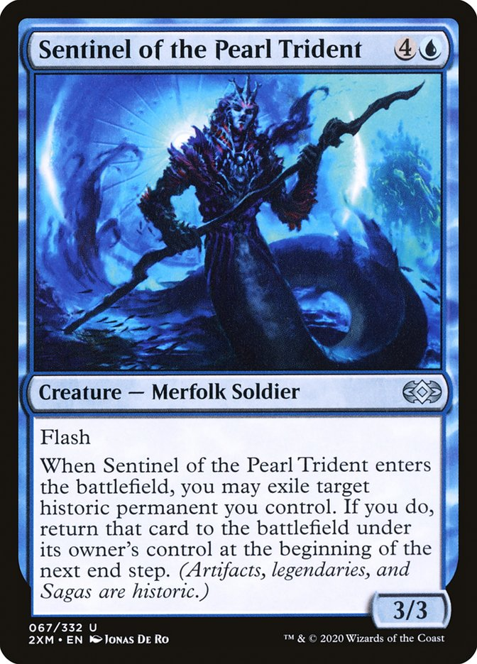Carta /Sentinel of the Pearl Trident de Magic the Gathering