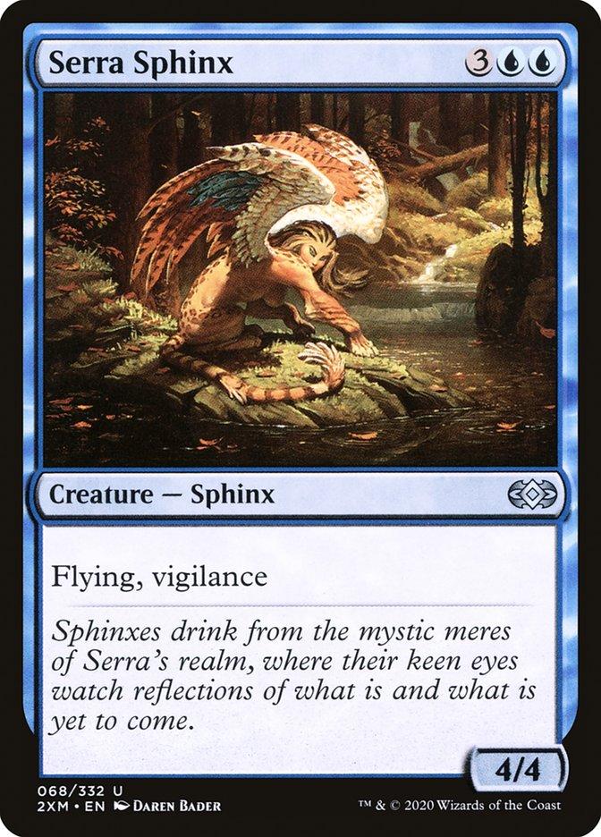 Carta /Serra Sphinx de Magic the Gathering