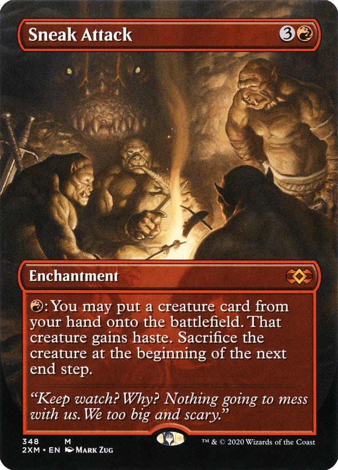 Carta /Sneak Attack de Magic the Gathering