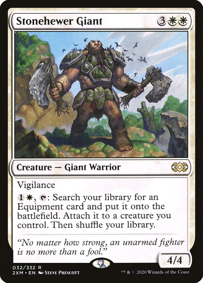 Carta /Stonehewer Giant de Magic the Gathering