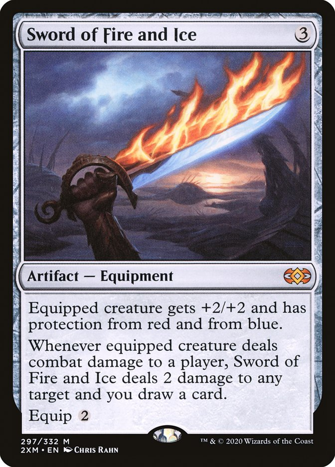 Carta /Sword of Fire and Ice de Magic the Gathering