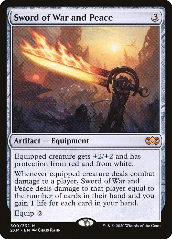 Carta /Sword of War and Peace de Magic the Gathering
