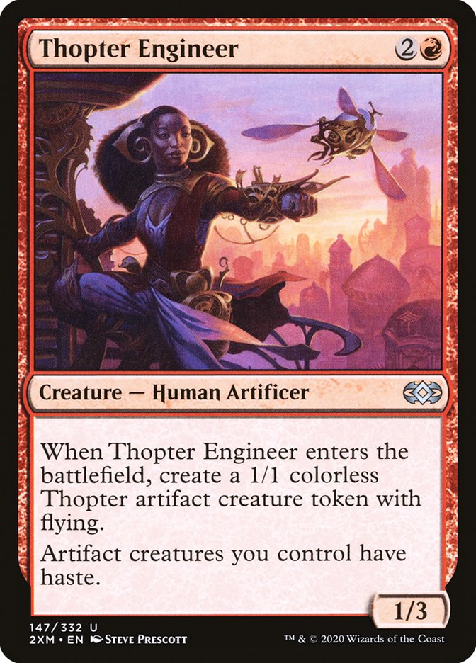 Carta /Thopter Engineer de Magic the Gathering