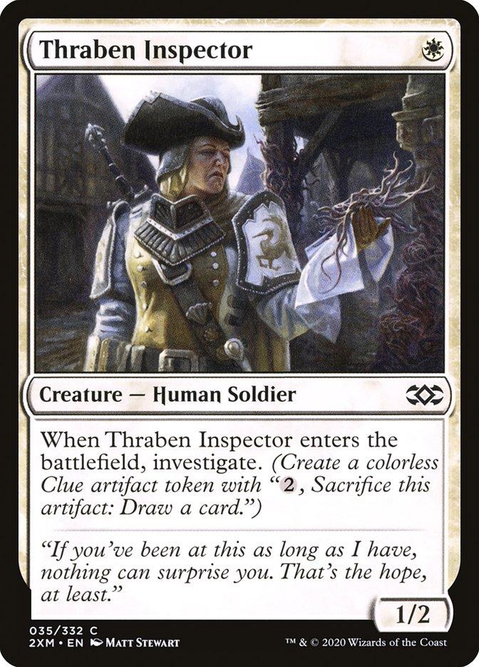 Carta /Thraben Inspector de Magic the Gathering