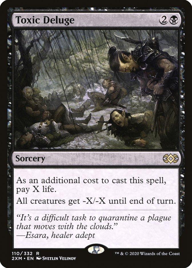 Carta /Toxic Deluge de Magic the Gathering