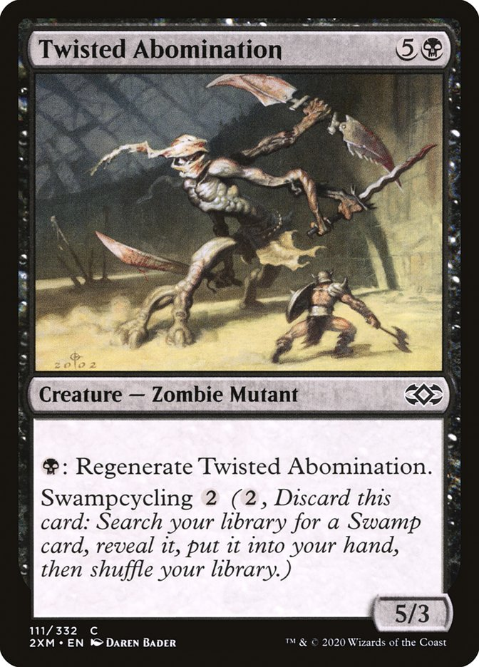 Carta /Twisted Abomination de Magic the Gathering