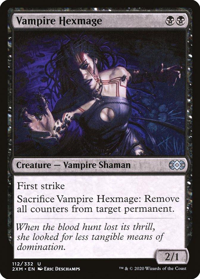Carta /Vampire Hexmage de Magic the Gathering