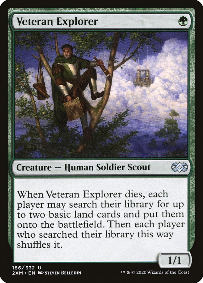 Carta /Veteran Explorer de Magic the Gathering