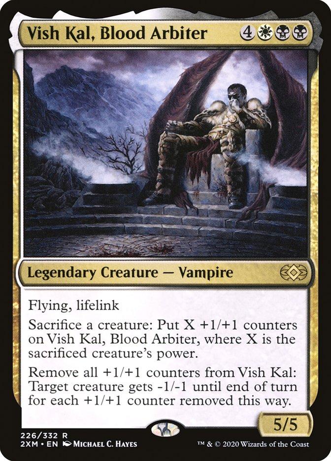 Carta /Vish Kal, Blood Arbiter de Magic the Gathering