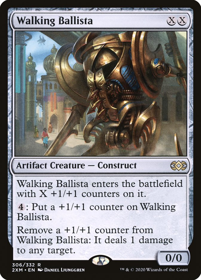 Carta /Walking Ballista de Magic the Gathering