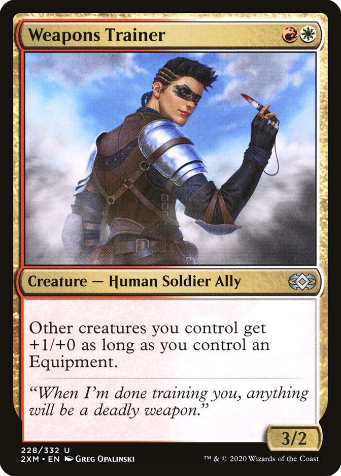 Carta /Weapons Trainer de Magic the Gathering