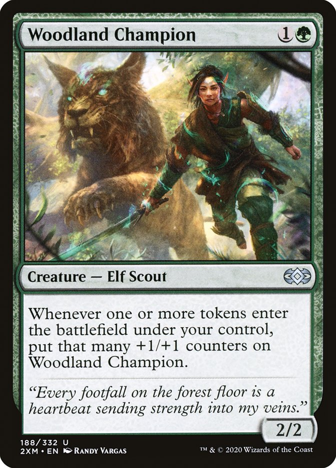 Carta /Woodland Champion de Magic the Gathering