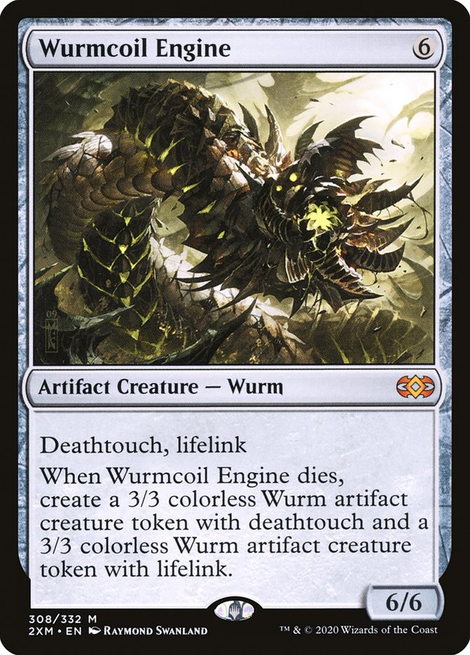 Carta /Wurmcoil Engine de Magic the Gathering