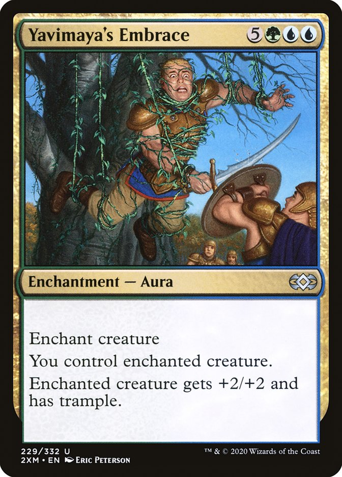 Carta /Yavimaya's Embrace de Magic the Gathering